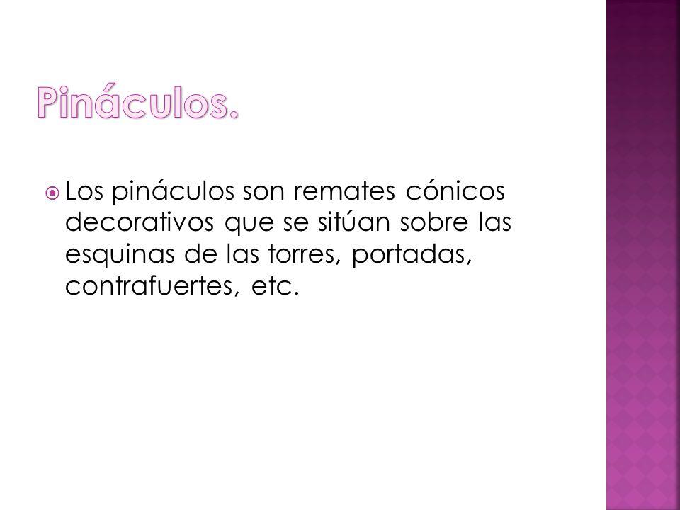 Pináculos.