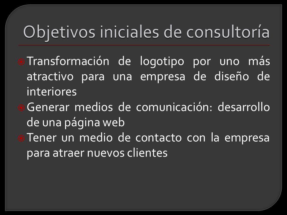 Objetivos iniciales de consultoría