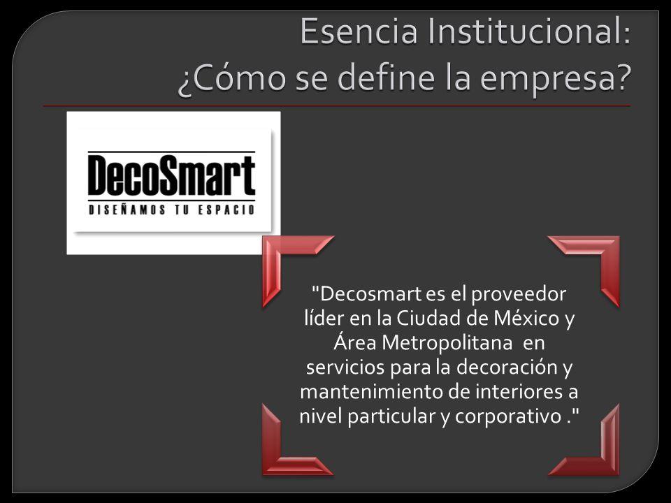 Esencia Institucional: ¿Cómo se define la empresa