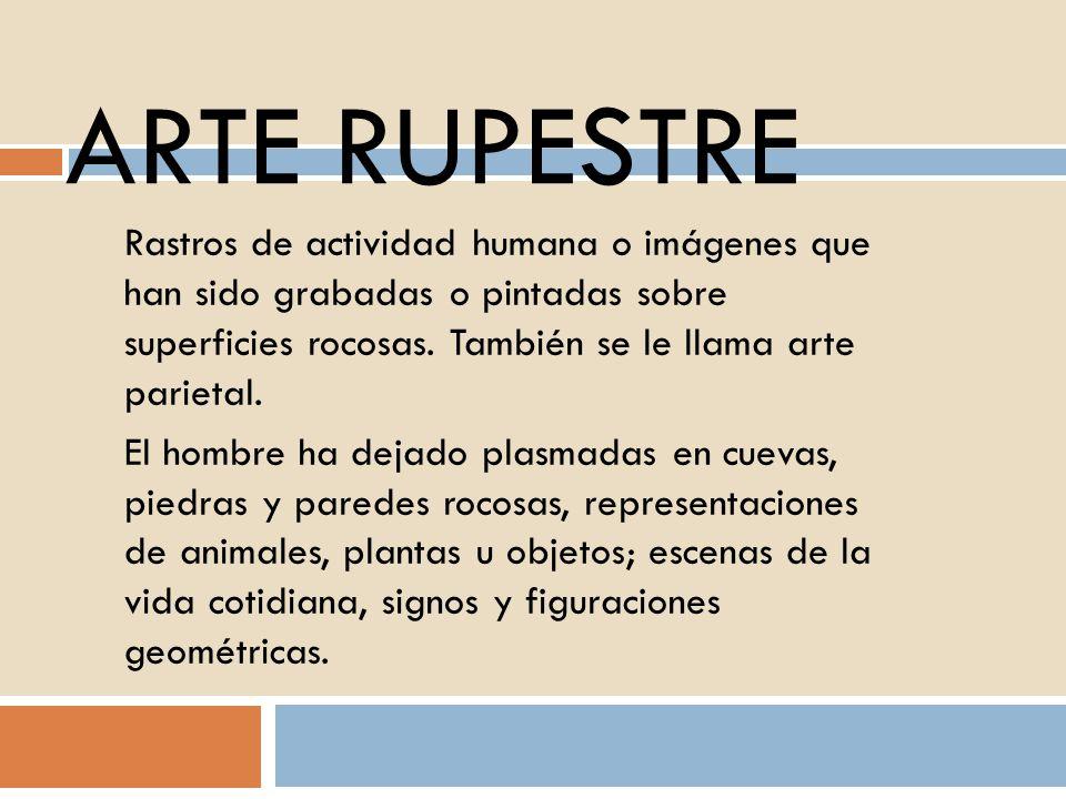 ARTE RUPESTRE