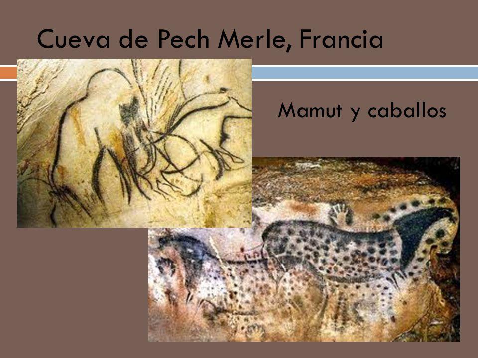 Cueva de Pech Merle, Francia