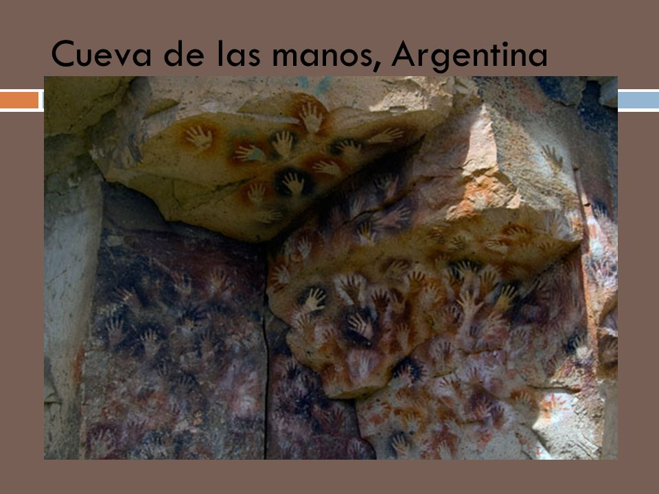 Cueva de las manos, Argentina