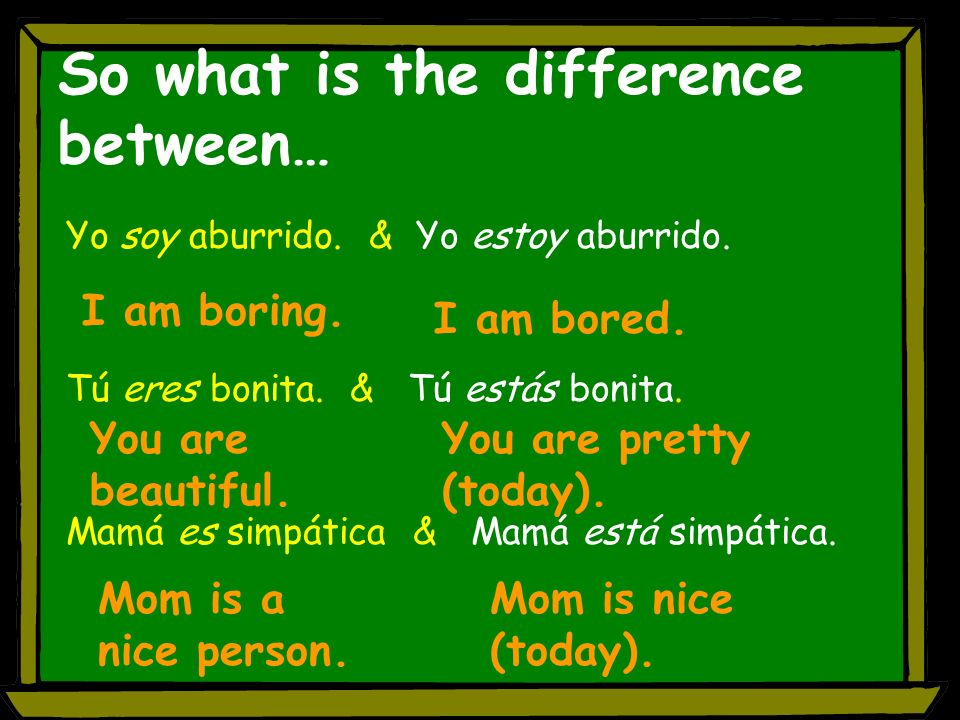 So what is the difference between…