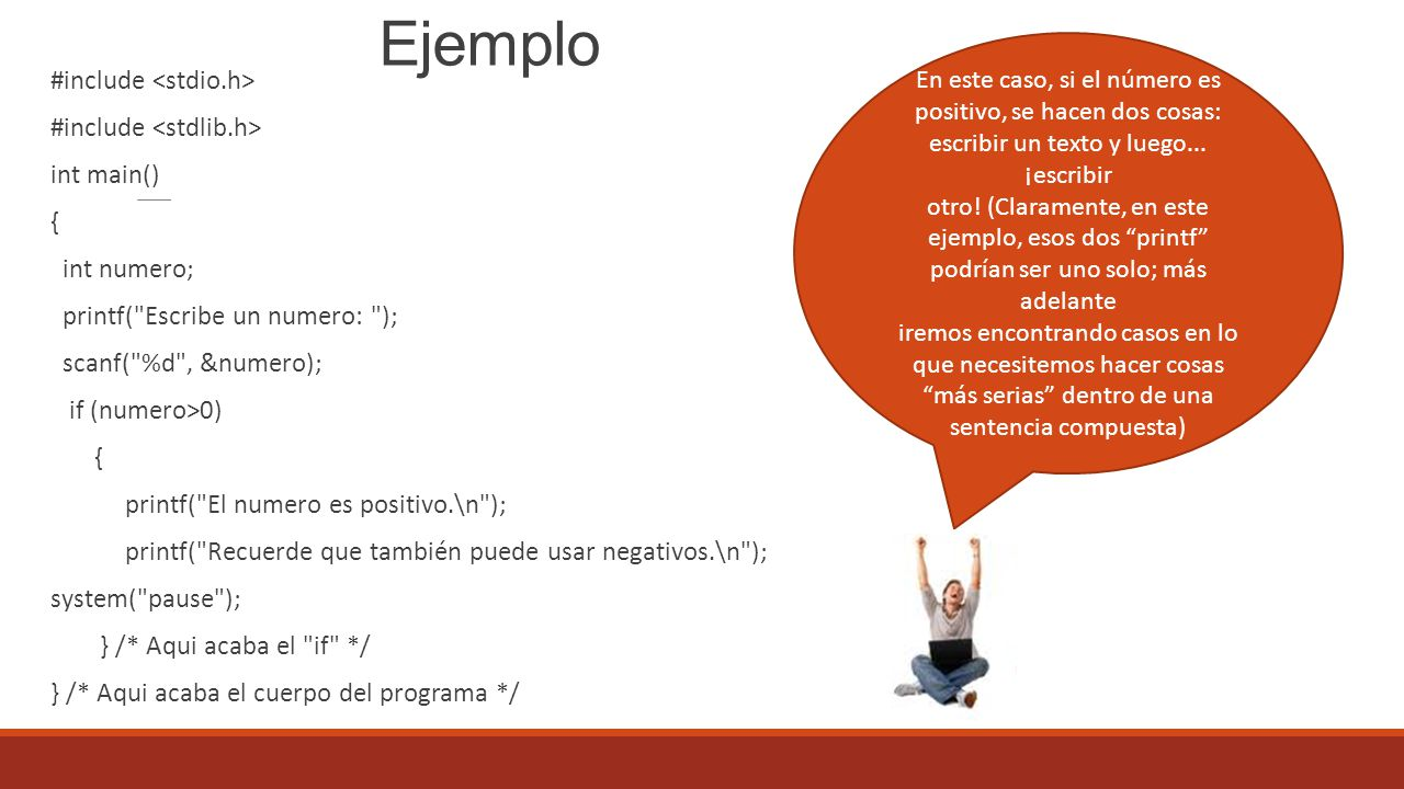 Ejemplo #include <stdio.h> #include <stdlib.h> int main()