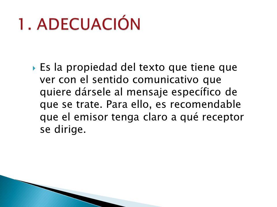 1. ADECUACIÓN