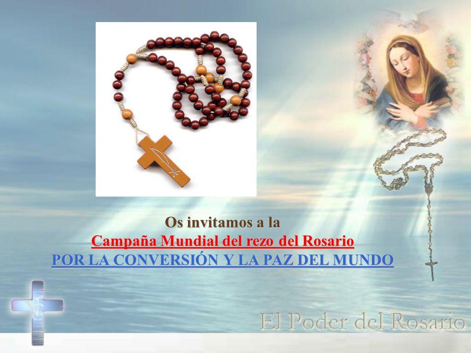 Campaña Mundial del rezo del Rosario