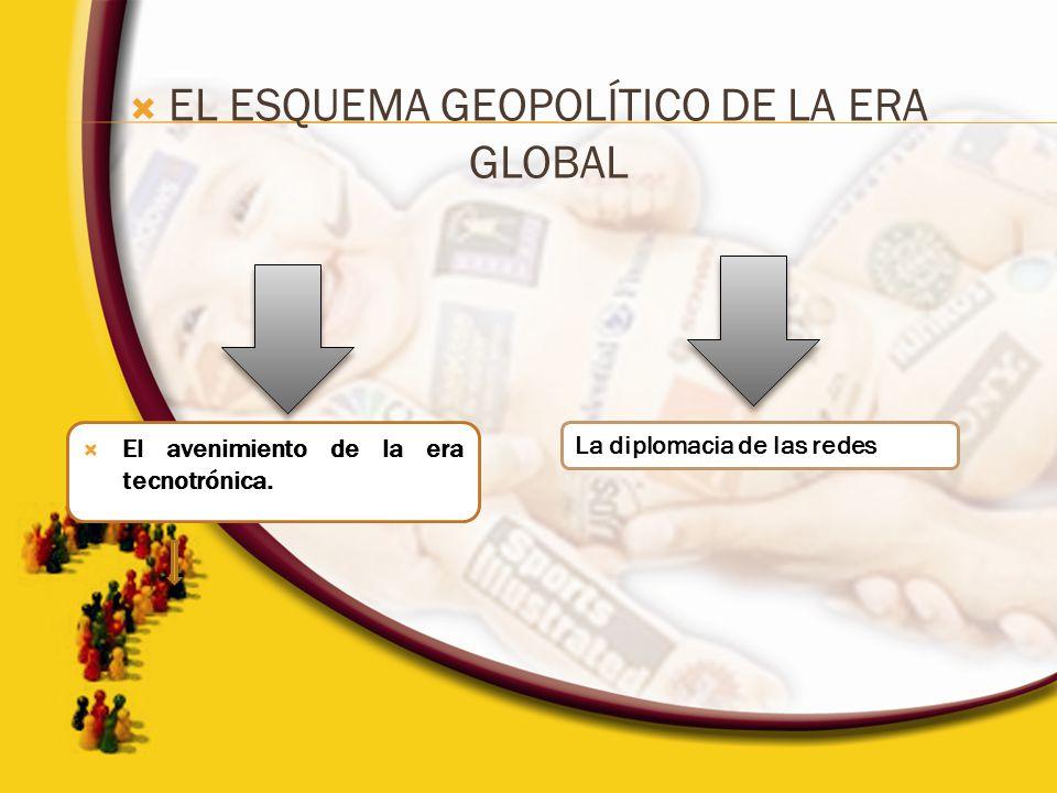EL ESQUEMA GEOPOLÍTICO DE LA ERA GLOBAL