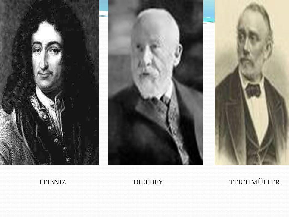 LEIBNIZ DILTHEY TEICHMÜLLER