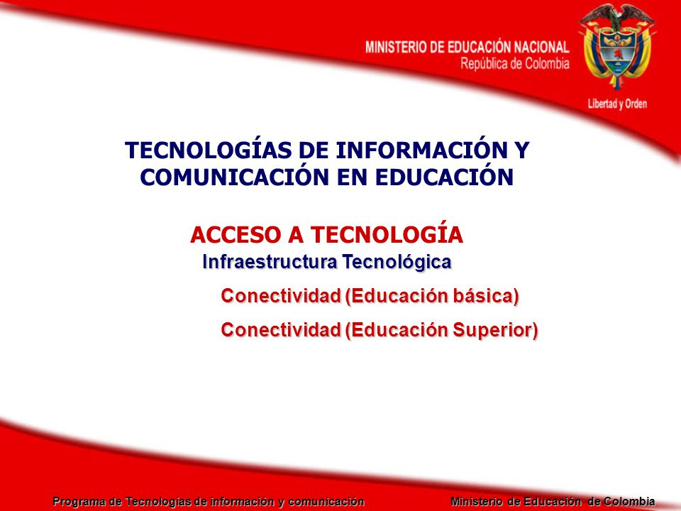 TECNOLOGÍAS DE INFORMACIÓN Y COMUNICACIÓN EN EDUCACIÓN