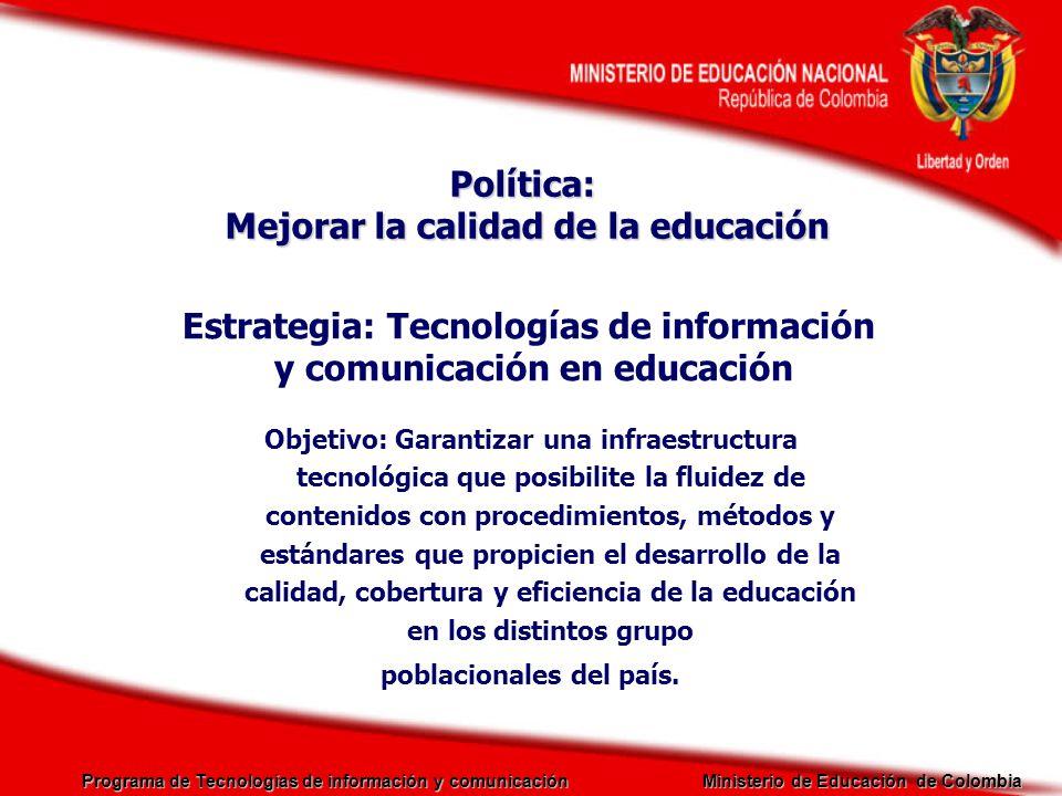 Mejorar la calidad de la educación