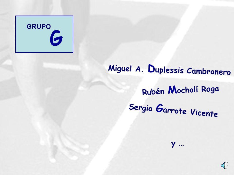 Miguel A. Duplessis Cambronero Sergio Garrote Vicente