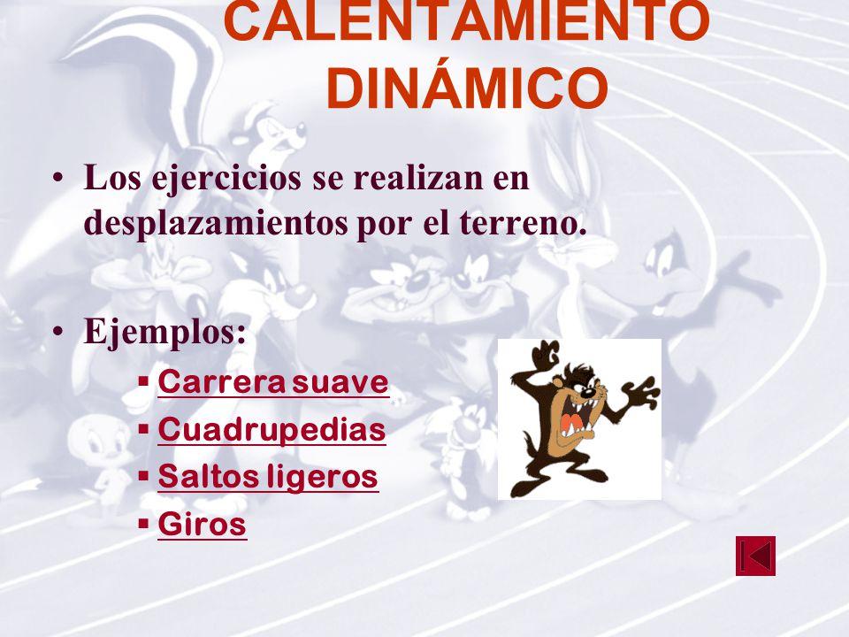 CALENTAMIENTO DINÁMICO