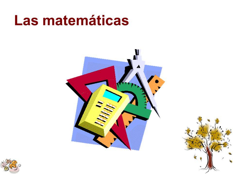 Las matemáticas