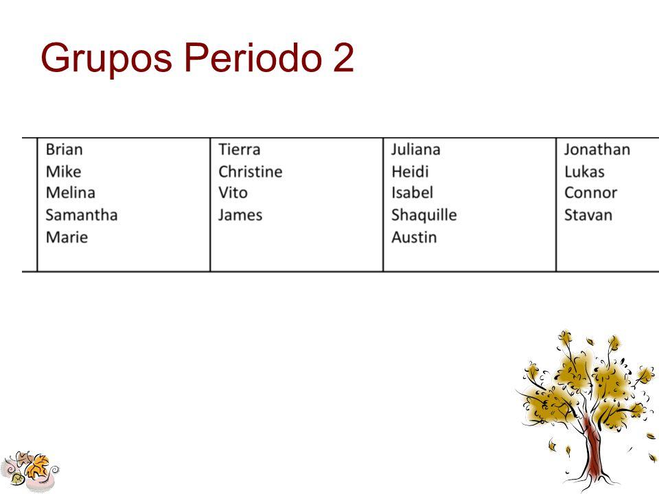 Grupos Periodo 2