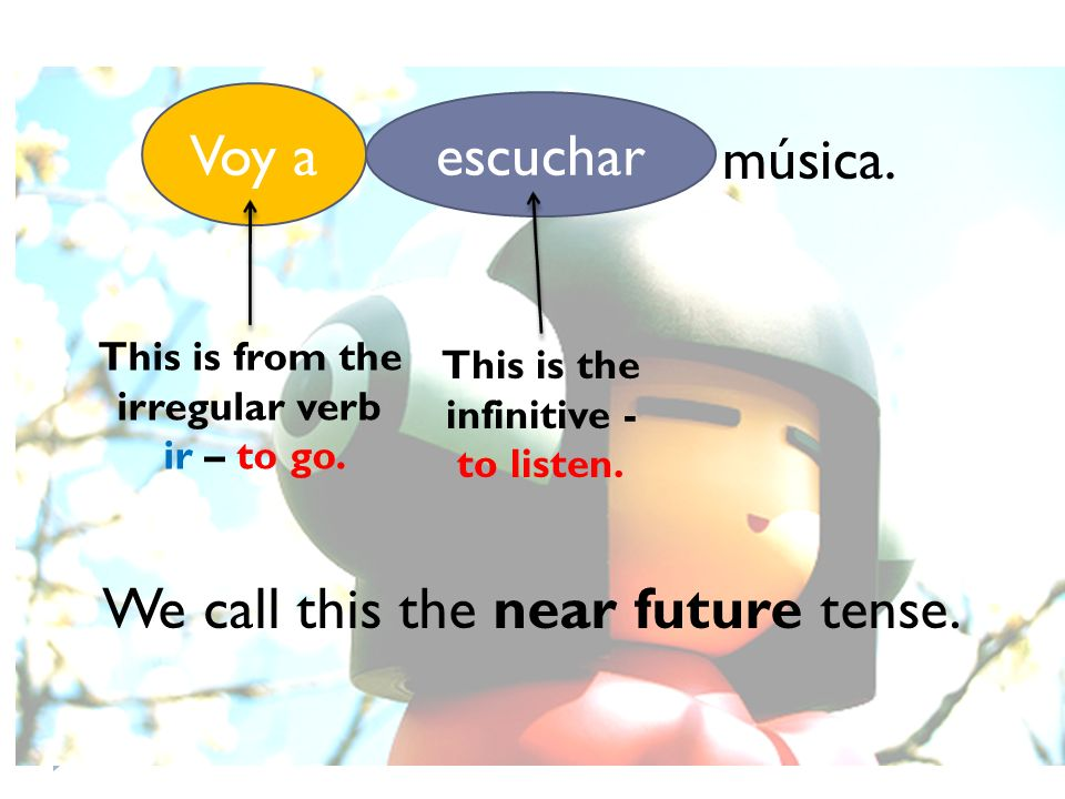 This is from the irregular verb This is the infinitive -