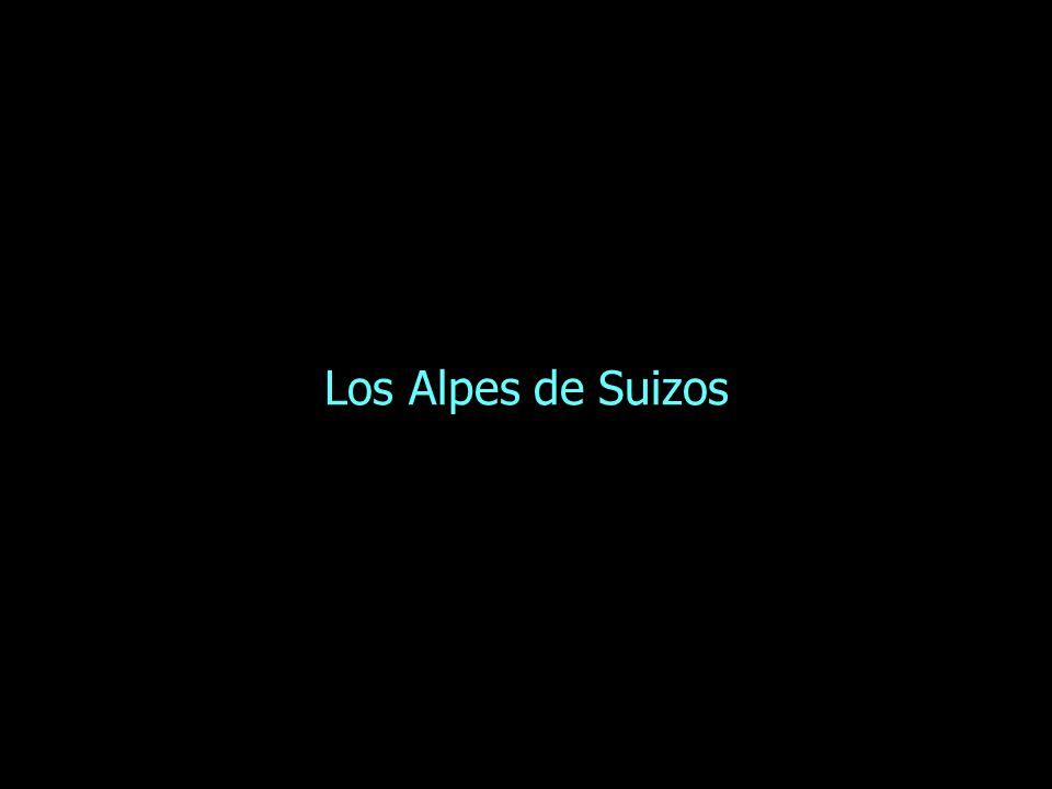 Los Alpes de Suizos