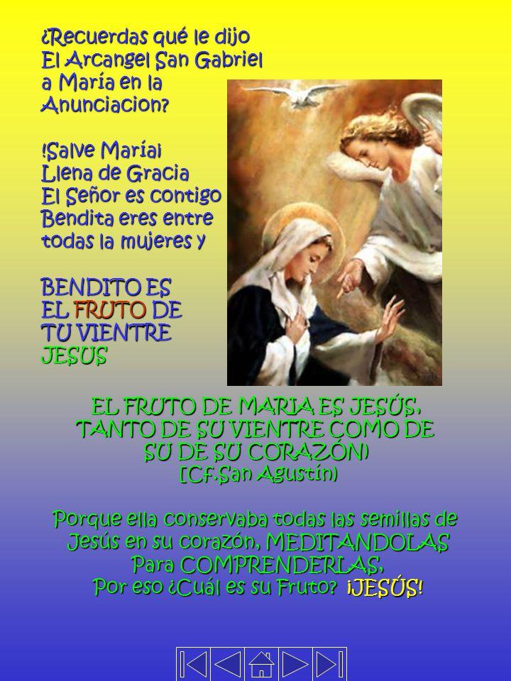 El Arcangel San Gabriel a María en la Anunciacion