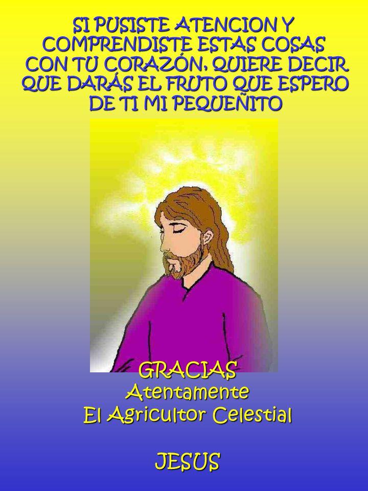 El Agricultor Celestial JESUS