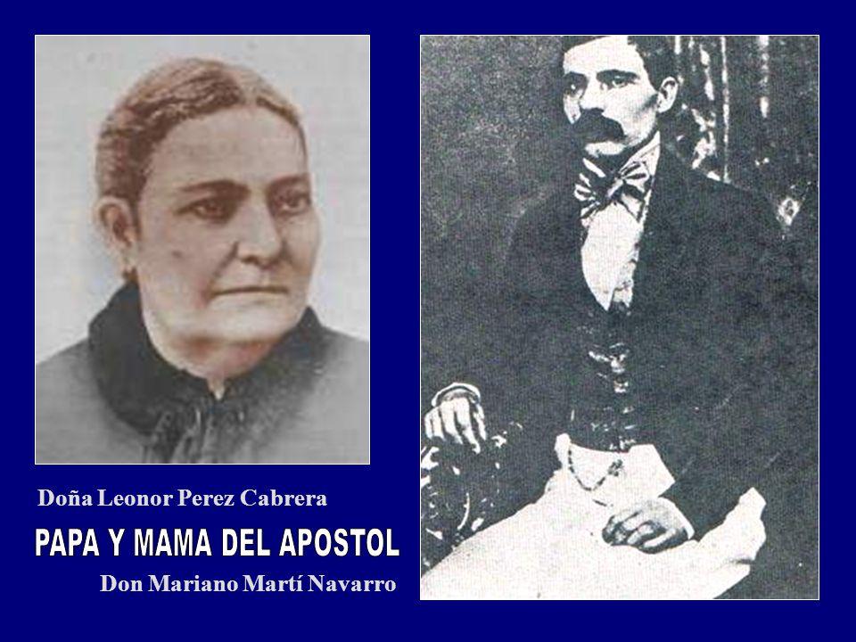 PAPA Y MAMA DEL APOSTOL Doña Leonor Perez Cabrera