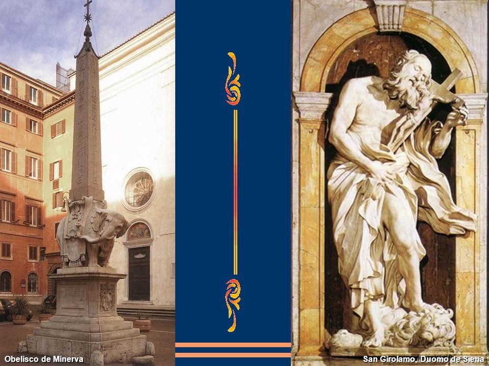 Obelisco de Minerva San Girolamo, Duomo de Siena