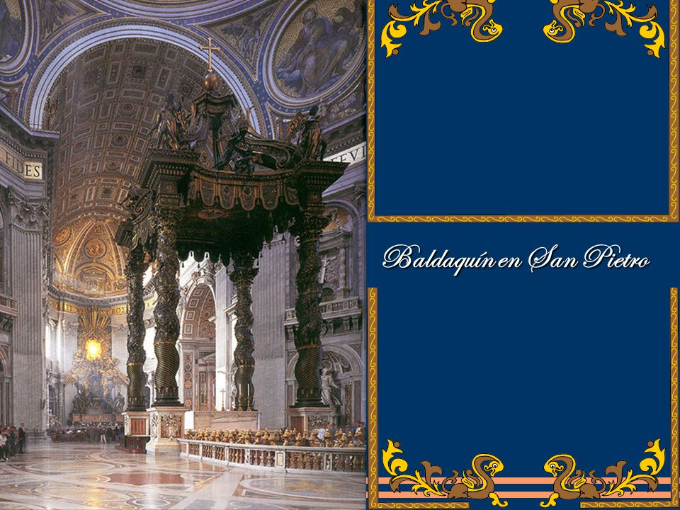 Baldaquín en San Pietro