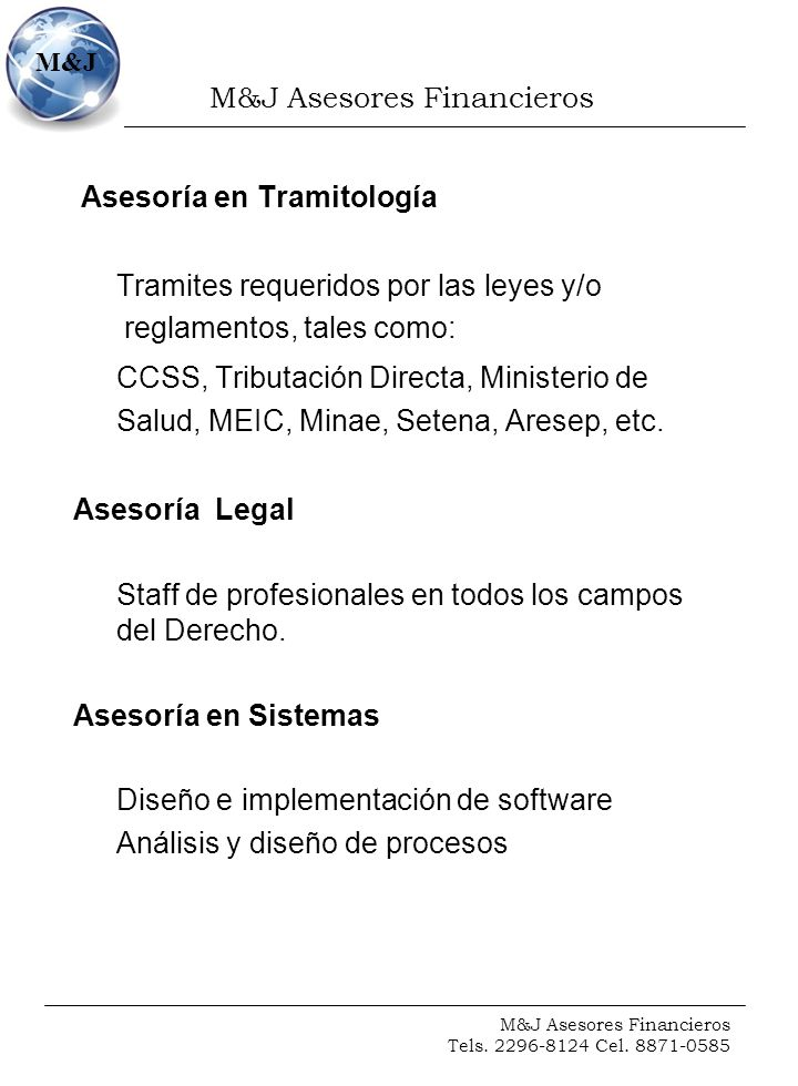 M&J Asesores Financieros