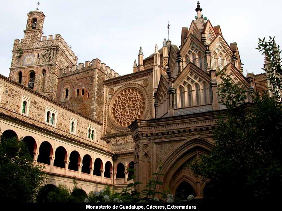 Monasterio de Guadalupe, Cáceres, Extremadura