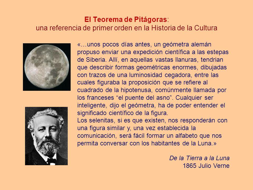 El Teorema de Pitágoras: una referencia de primer orden en la Historia de la Cultura