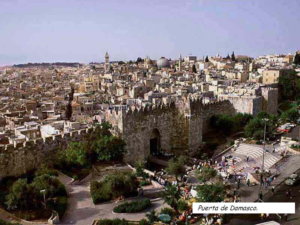 Puerta de Damasco.