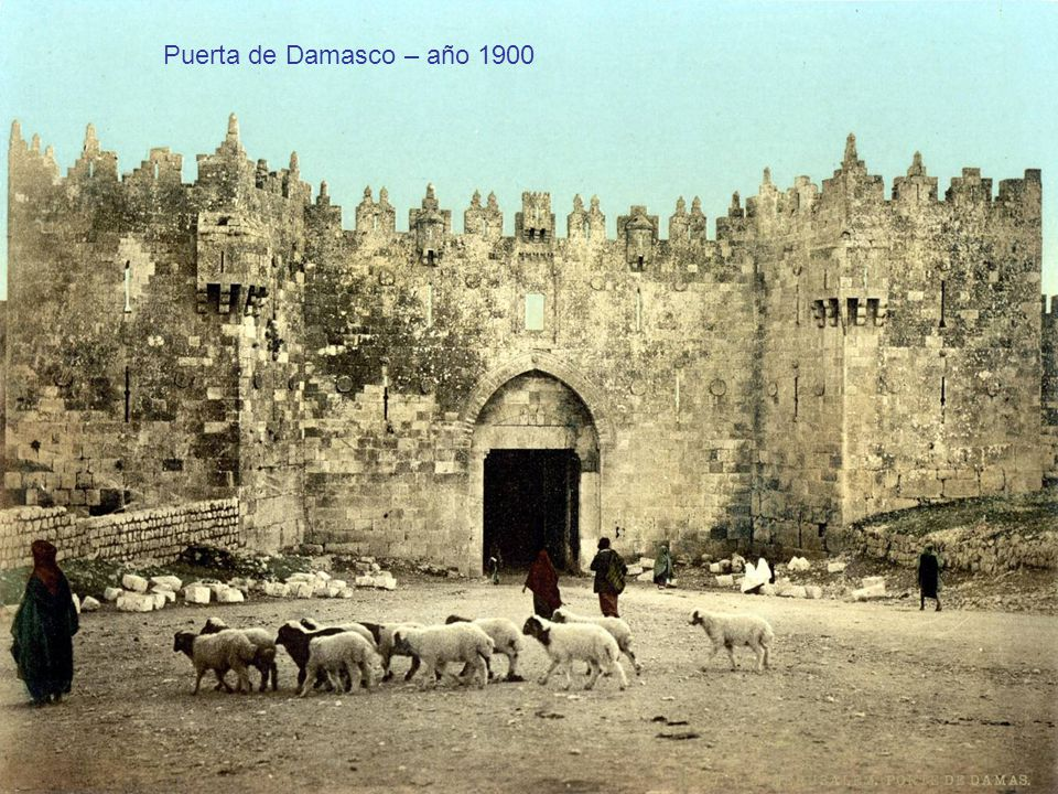 Puerta de Damasco – año 1900