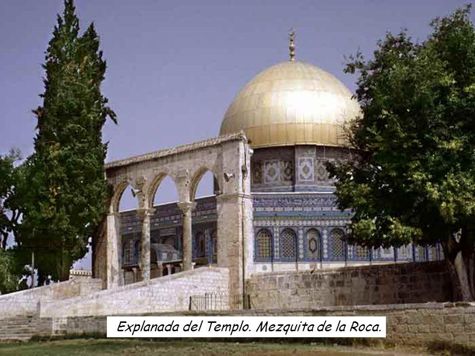 Explanada del Templo. Mezquita de la Roca.