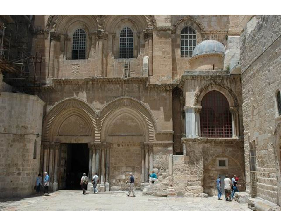 We finish with the Church of the Holy Sepulcher