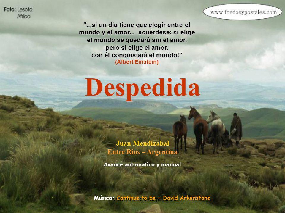 Despedida Juan Mendizabal Entre Rios – Argentina