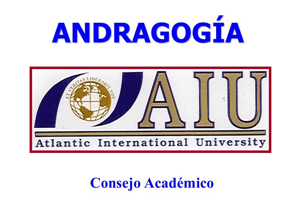 ANDRAGOGÍA Consejo Académico