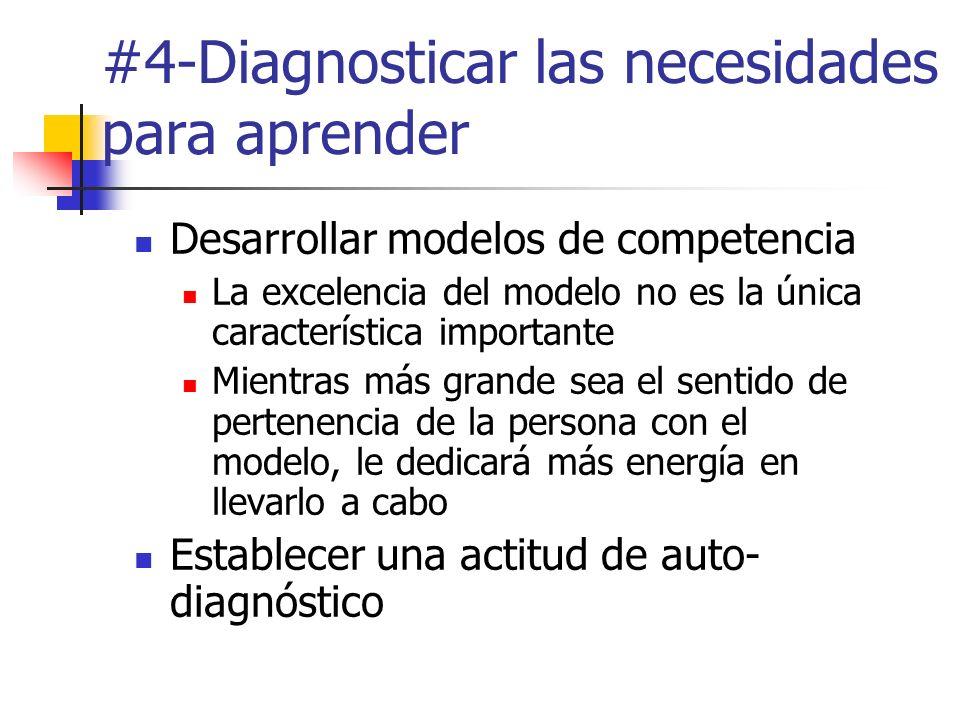 #4-Diagnosticar las necesidades para aprender