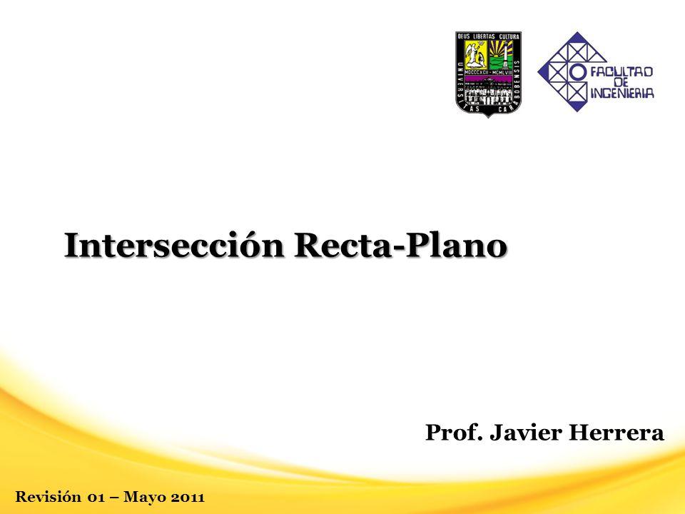 Intersección Recta-Plano