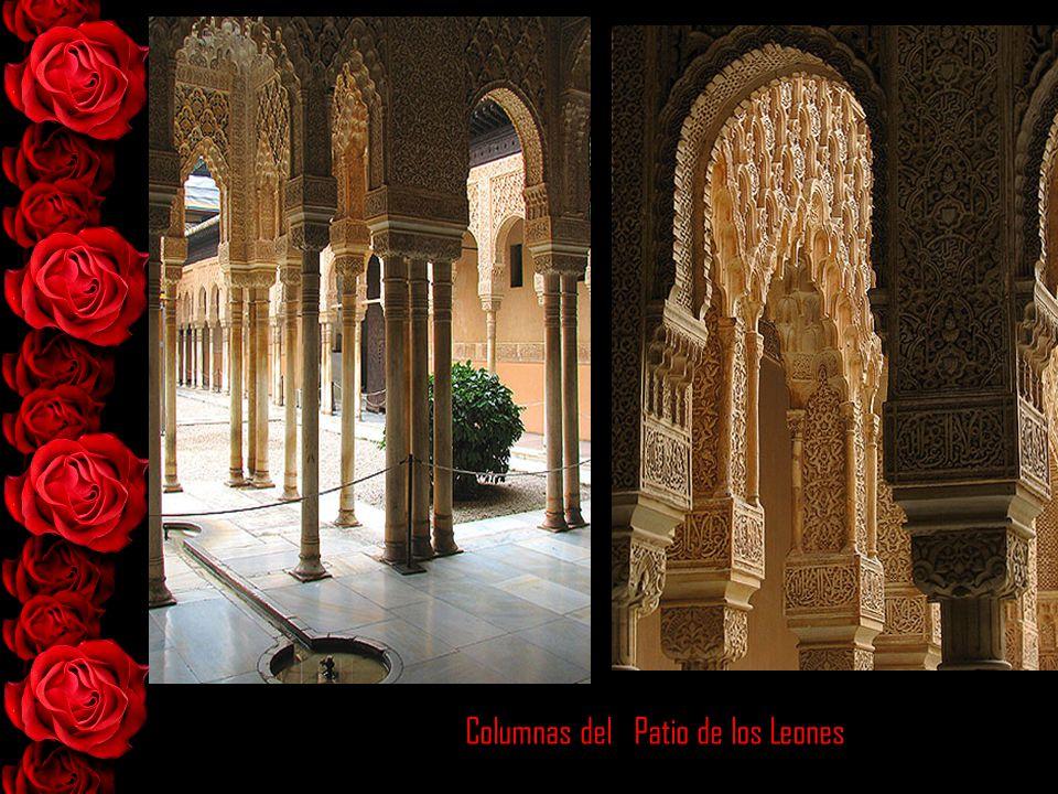 Columnas del Patio de los Leones