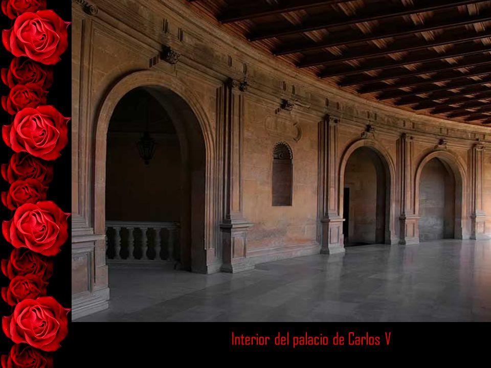 Interior del palacio de Carlos V