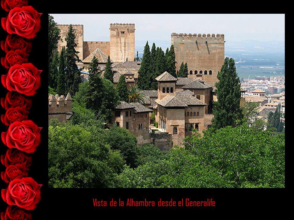 Vista de la Alhambra desde el Generalife