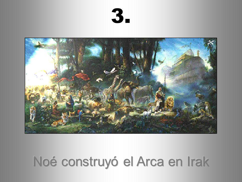 Noé construyó el Arca en Irak