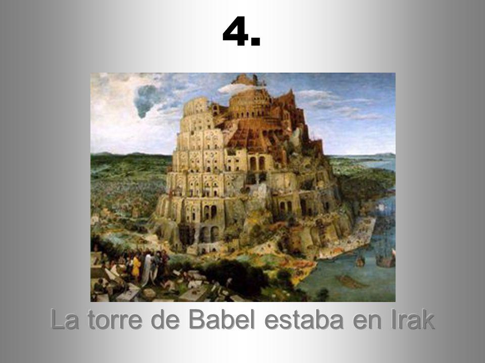 La torre de Babel estaba en Irak