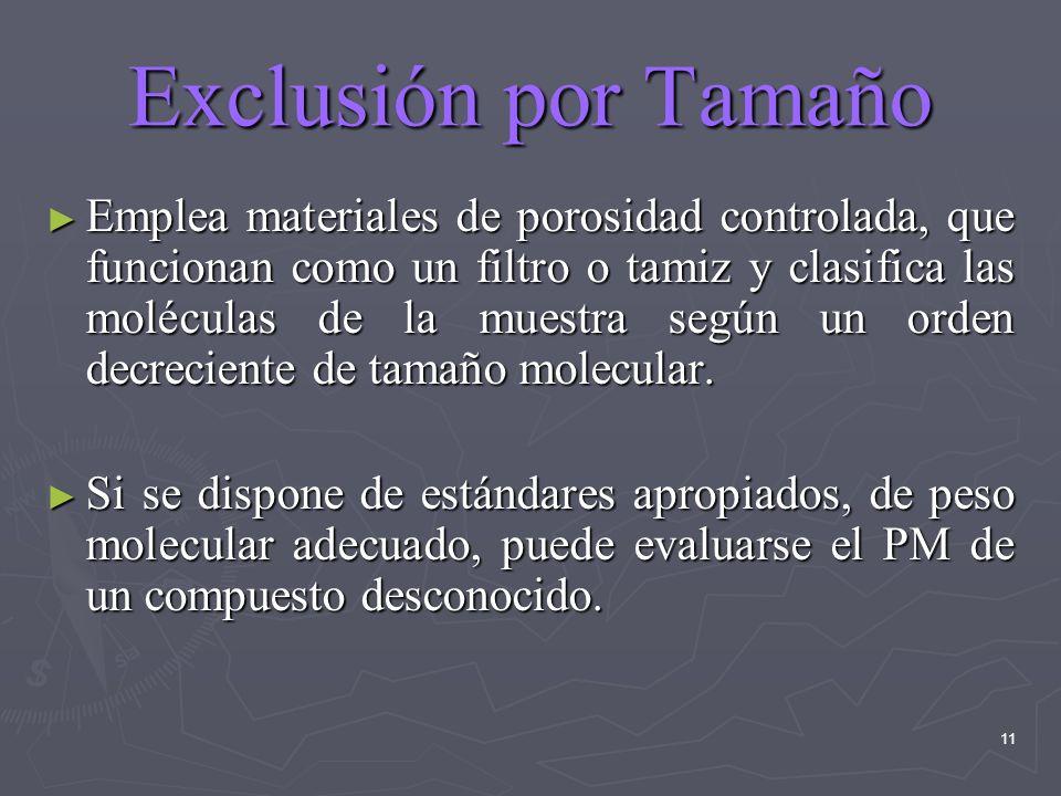Exclusión por Tamaño