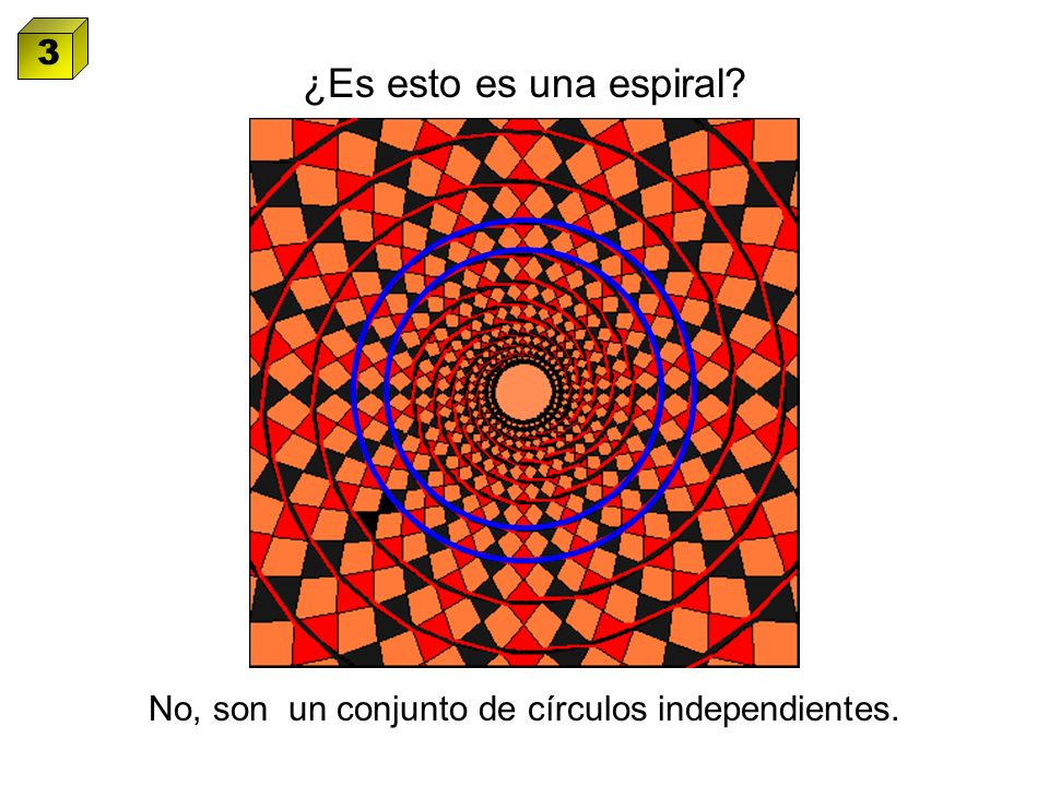 No, son un conjunto de círculos independientes.