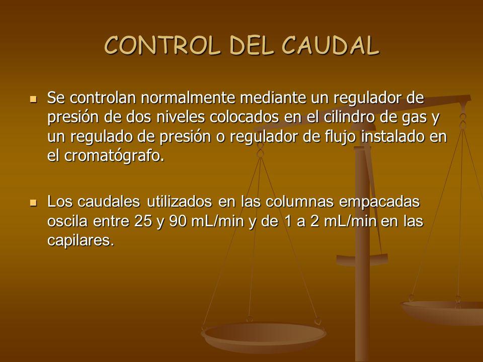 CONTROL DEL CAUDAL