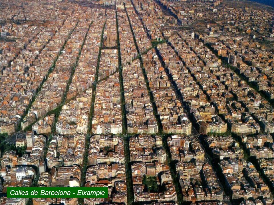 Calles de Barcelona - Eixample