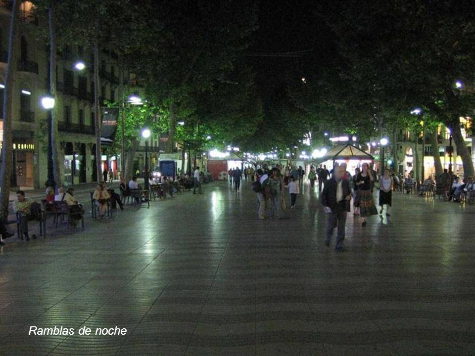 Ramblas de noche www.vitanoblepowerpoints.net