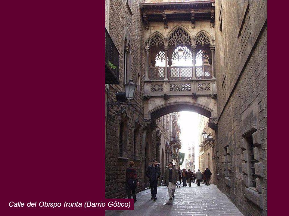 Calle del Obispo Irurita (Barrio Gótico)