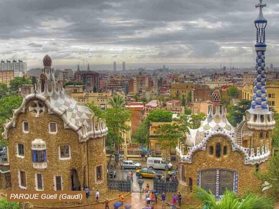 PARQUE Güell (Gaudí) www.vitanoblepowerpoints.net