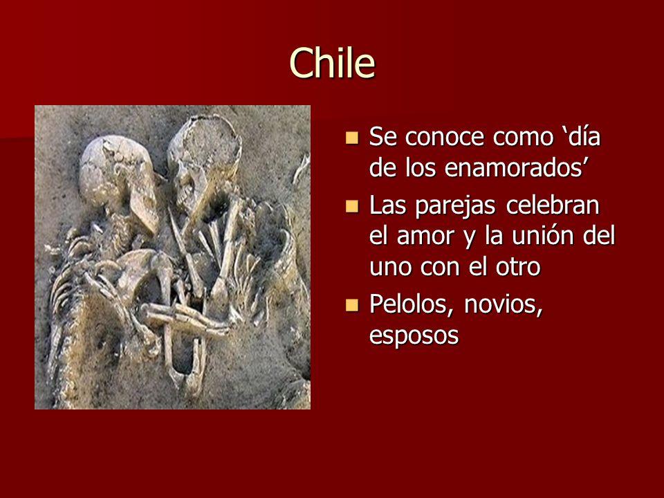 Chile Se conoce como 'día de los enamorados'