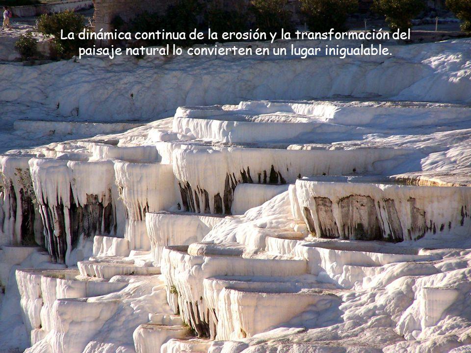 La dinámica continua de la erosión y la transformación del paisaje natural lo convierten en un lugar inigualable.